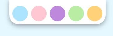 Палитра для изменения цвета по клику